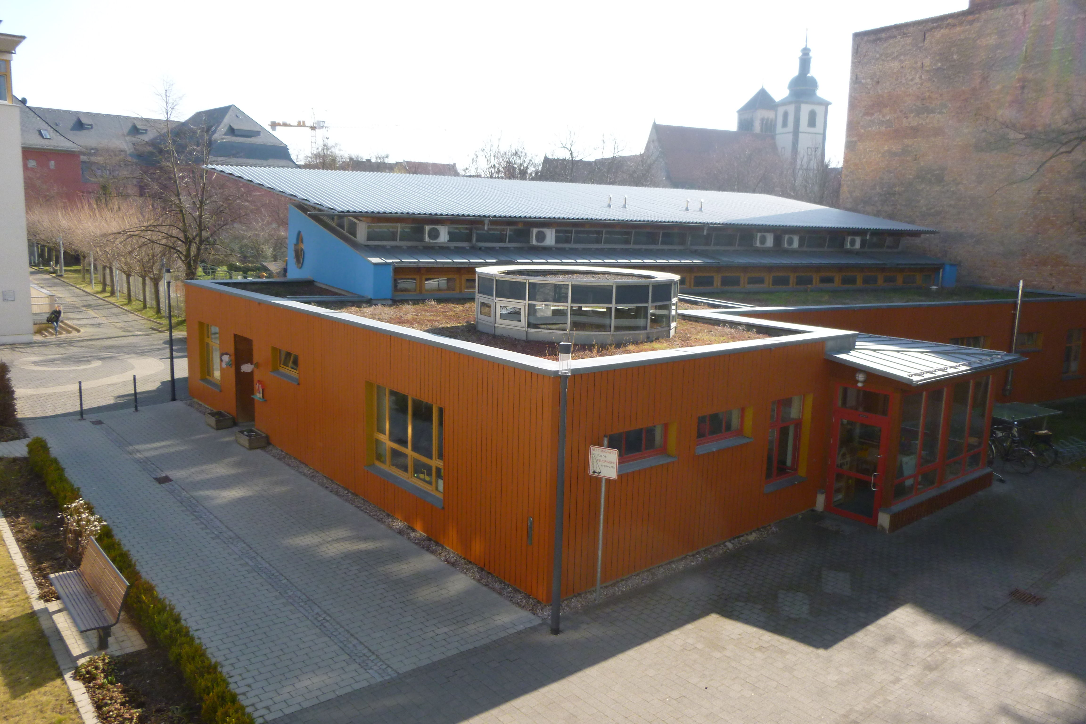 Blick vom Bildungshaus