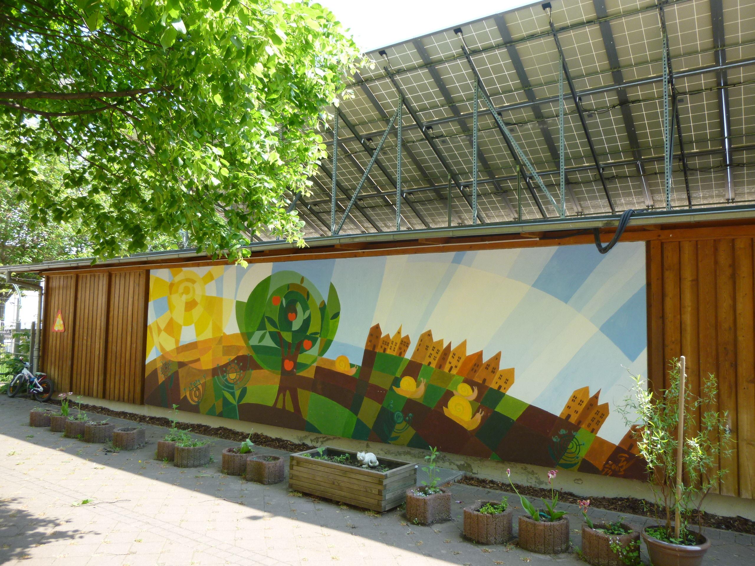Wandbild Künstlerin Christiane Winter